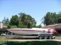 For Sale: 2000 ULTIMATE WARLOCK, 29 FT. BOAT & TRIPLE