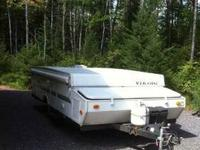 2000 Viking Pop Up Camper Travel Trailer Very roomy pop