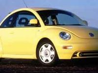 2000 Volkswagen Beetle GLS 1.8L I4 SMPI Cloth. Please