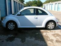 2000 VW NEW BEETLE GLS 1.8 TURBO 5 SPEED MANUAL
