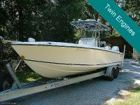 2000 Whitwater 28 CC Open Twin 2006 Evinrude Etec 225