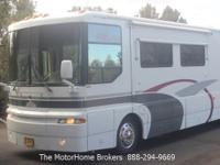 Model 36C with 2 slide-outs. Very nice coach in a