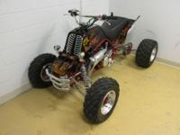 2000 Yamaha Banshee. The motor is a 4 mill stroke