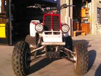 2000 YAMAHA BANSHEE 350 RUNS GREAT 2 STROKE MANUAL