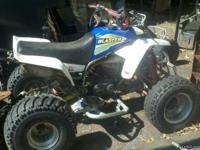 this quad has ,3mm vito stroker crank,carb spacer,dg