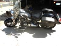 Black Beauty 2000 Yamaha Classic 650 V-twin for sale.