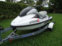 2000 Yamaha GP1200R, 1200cc 2 stroke 3 cylinder, just