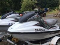 2000 Yamaha GP1200R wave runners. Both wave runners