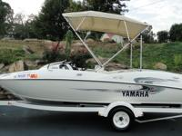 FOR SALE I HAVE A REAL NICE YAMAHA JET BOAT. IT IS IN