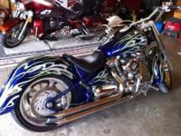 2000 Yamaha Road Star Cruiser This bike is a show