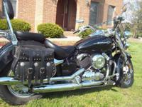 This 2000 Yamaha V Star Classic only has 6,948 miles on