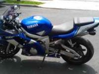 Description MUST SEE2000' yamaha YZF-R6 sport bike for