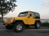 I have a 2000 yellow Jeep Wrangler sport that I am