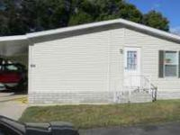 3 bedroom/2 bath 2001 Homes of Merit Mobile Home for
