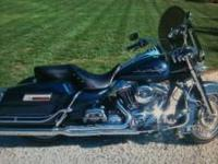 2004 HARLEY-DAVIDSON ROAD KING ONLY HAS 22,000 MILES ON