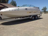 2000 Chaparral Sunesta 232 deck boat. Ultimate family