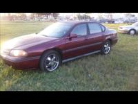 2000 Burgundy Chevy Impala - $1950 cash. We likewise