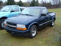 2000 Chevy S10 - Blue, 5spd, 126k Miles, RWD, 4