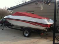 For Sale is a 2000 Crownline 180 open bow boat. This