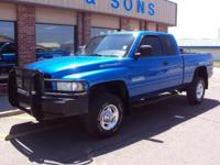 Options Included: Extended Cab, 4 Wheel Drive, Turbo,