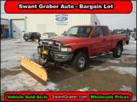 2000 Dodge Ram 2500 w/PLOW - Swant Graber Auto Group