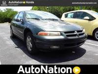 2000 Dodge Stratus. Our Area is: AutoNation Honda