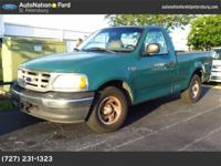 This lovely Green Metallic F-150 XLT certifies for the