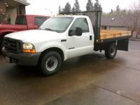 Super-Duty 7.3 L Diesel Flat Bed/Dump Bed, Automatic,