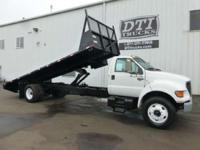 Strong Running Flatbed Dump Truck With 164K Miles