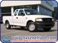 Options Included: 2000 Ford F-150 XL Supercab ** Work