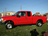 Here is a nice 2000 Ford F250 with Ford's best diesel,