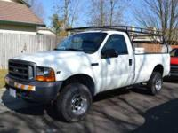 2000 Ford F250 Truck in Excellent Condition White