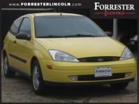 2000 Ford Focus ZX3 Zinc Yellow Clearcoat Metallic,