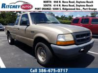LOW MILEAGE 2000 FORD RANGER XL 2WD EXTENDED CAB**CLEAN
