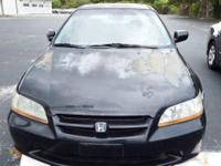 2000 Honda Accord EX-L ** V6 powered ** NO TIMING BELT