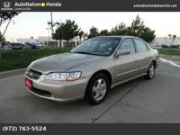 You can discover this 2000 Honda Accord Sdn EX and