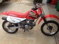 I have an 2000 Honda XR80 in great condition. We have