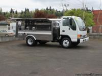 #5786:  This 2000 Isuzu NPR catering truck features a