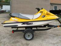 2000 Kawasaki 900 STX Jet-Ski - Yellow Used; good