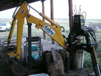 2000 C.C. Kelly F30FG backhoe, Exterior: Yellow, With