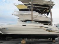 2000 Sea Ray 240 Sun Deck Bowrider. This Sea Ray is in