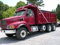 2000 Sterling Tri Axle Dump Truck 430 hp Detorit Engine