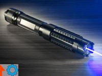The 2 Watt Handheld Blue Laser is one of the most