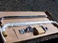 New in the box Stainless Steel running boards with