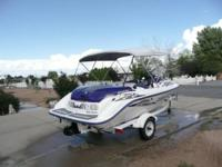 2001 16 Ft SeaDoo Sportster LE, 130 HP, 4 Seater, 55