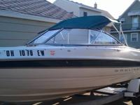 2001 18' BAYLINER 1800 CAPRI, Mercury 125 hp Outboard,