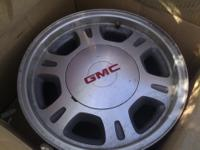 2001 2002 GMC Truck, 4 rims 15 inch  Location: Aurora