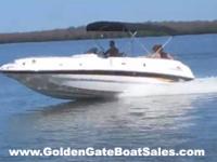 2001, 25' CHAPARRAL 252 SUNESTA Deck Boat Single Gas