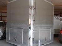 Stock Number: 717050. Aluminum 26' toy hauler was built