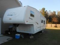 This 2001 Cougar travel trailer has been completely